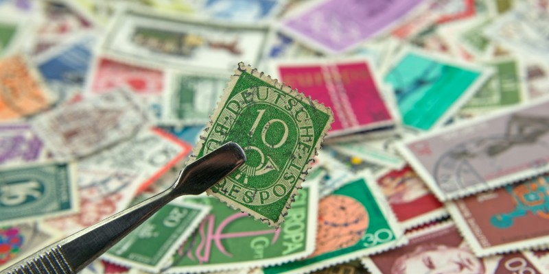 Große Briefmarkensammlung